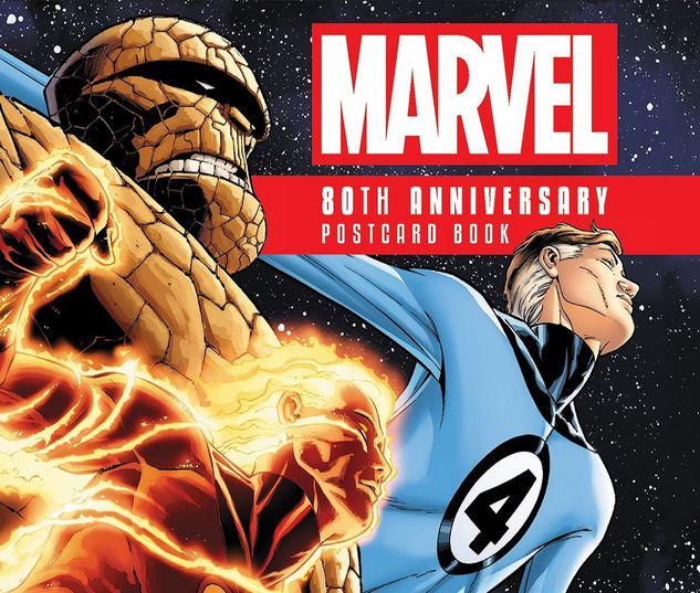 MARVEL 80TH ANNIVERSARY POSTCARD BOOK HC #0