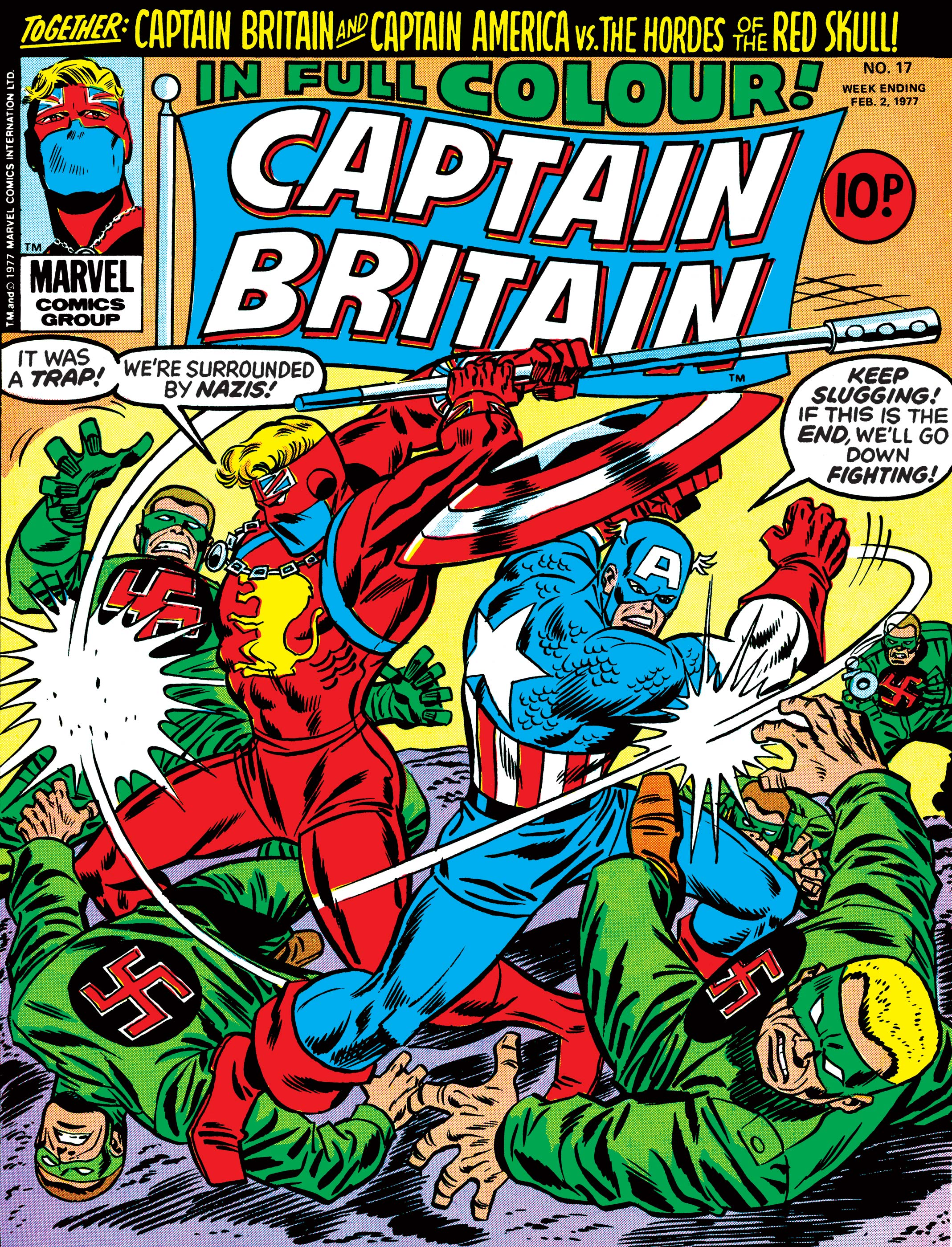 Captain Britain (1976) #17