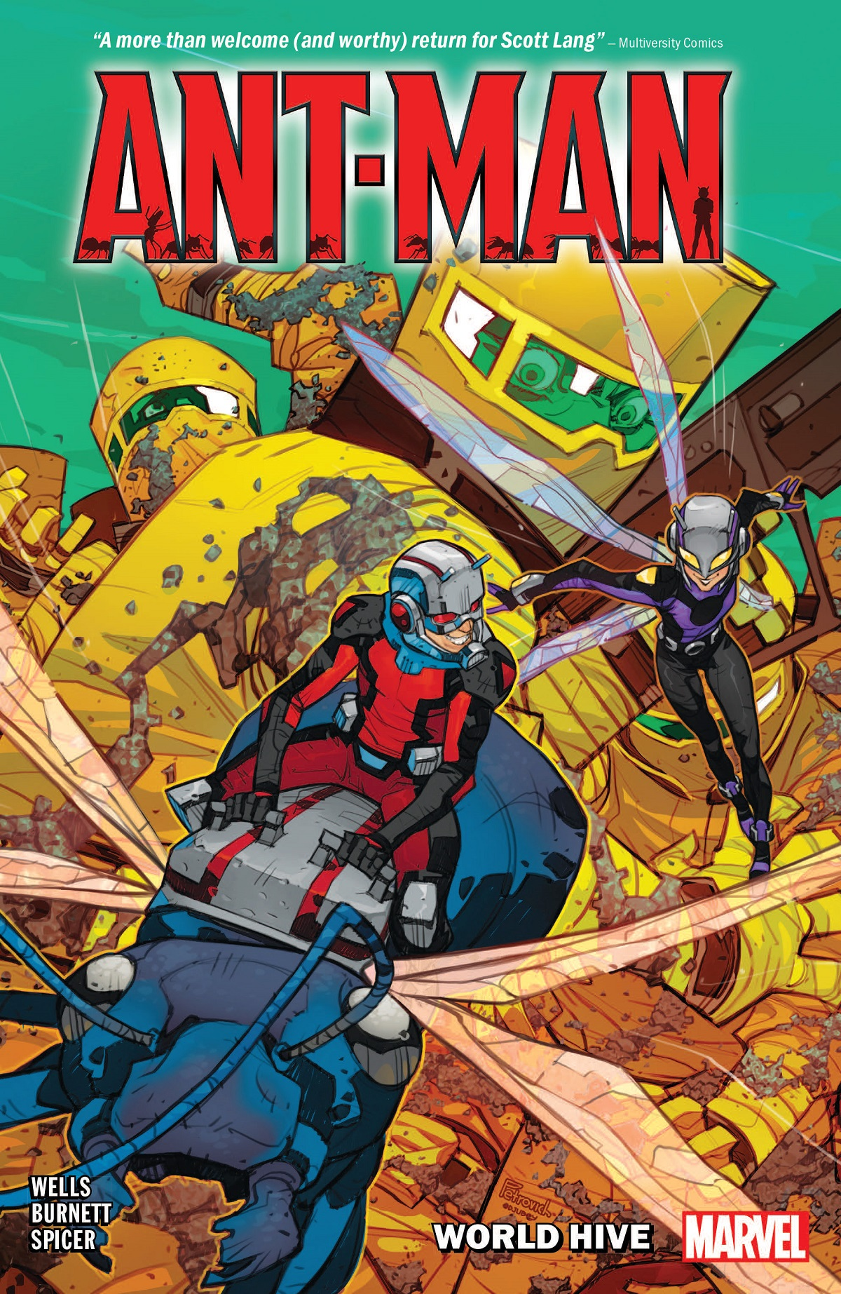 Ant-Man: World Hive (Trade Paperback)