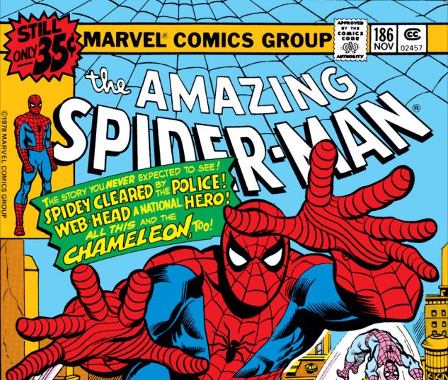 Amazing Spider-Man (1963) #186 Cover