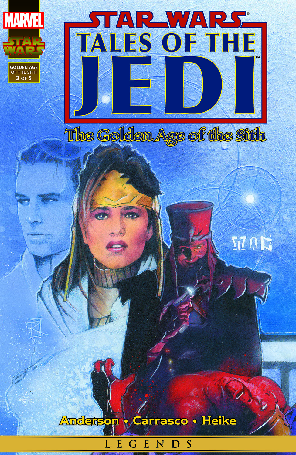 Star Wars: Tales Of The Jedi - The Golden Age Of The Sith (1996) #3
