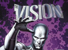 Vision (2015) #2 variant cover by Dale Keown