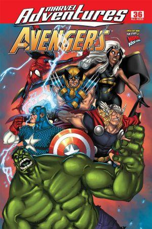 Marvel Adventures the Avengers (2006) #36