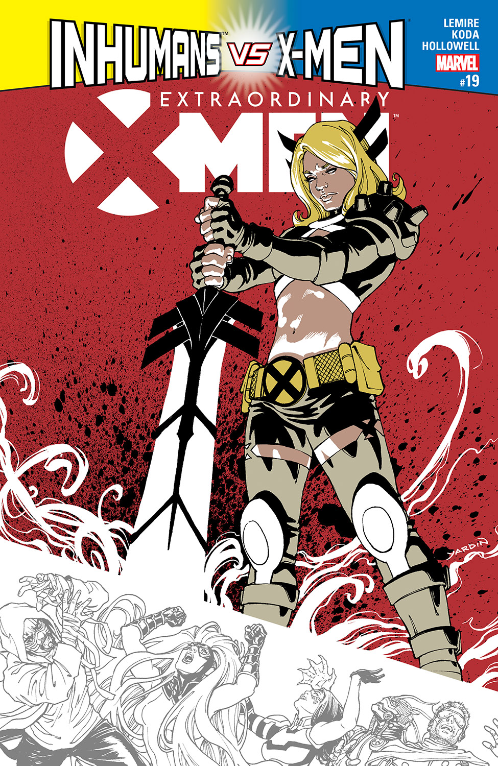 Extraordinary X-Men (2015) #19