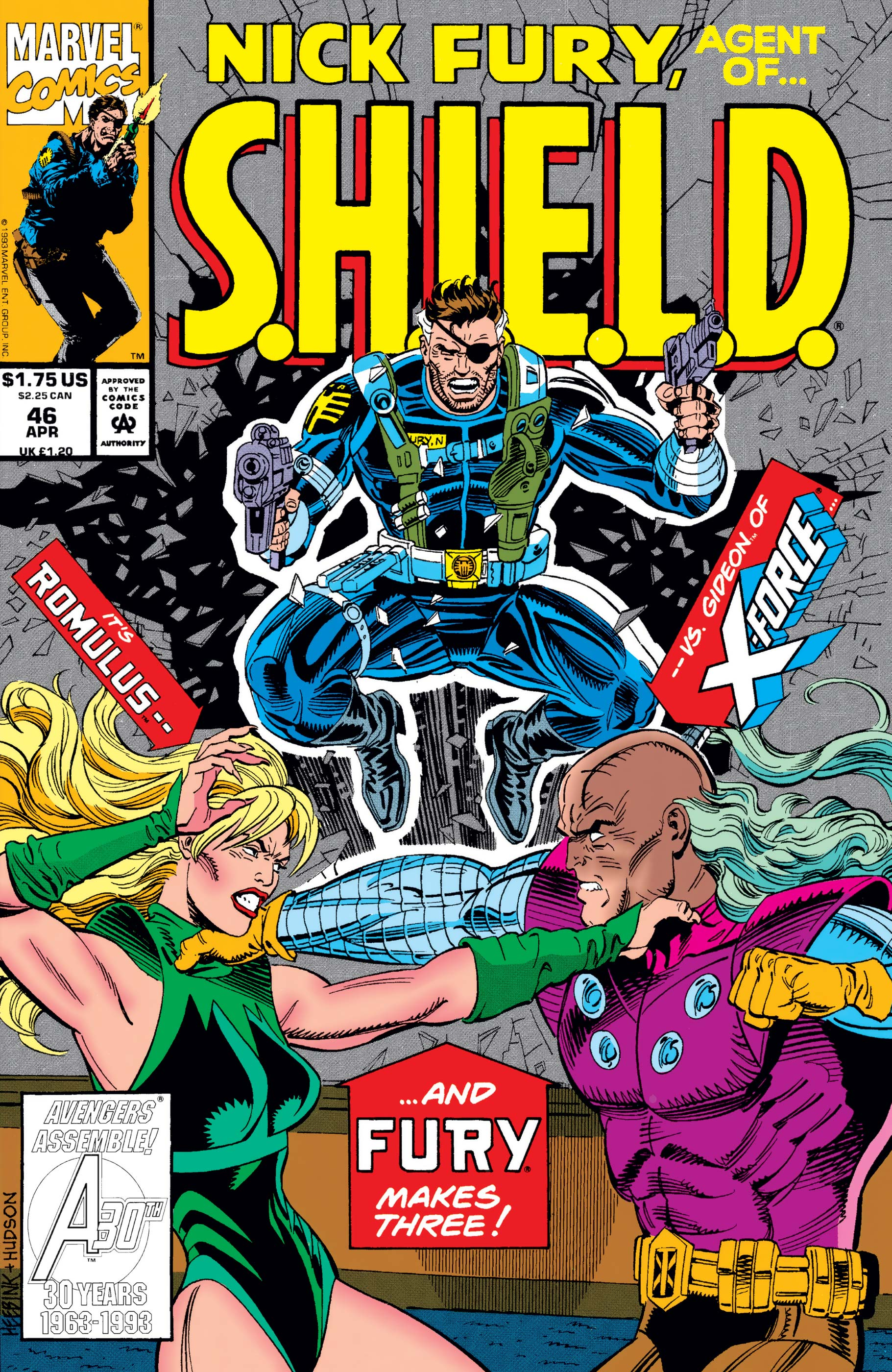 Nick Fury, Agent of S.H.I.E.L.D. (1989) #46