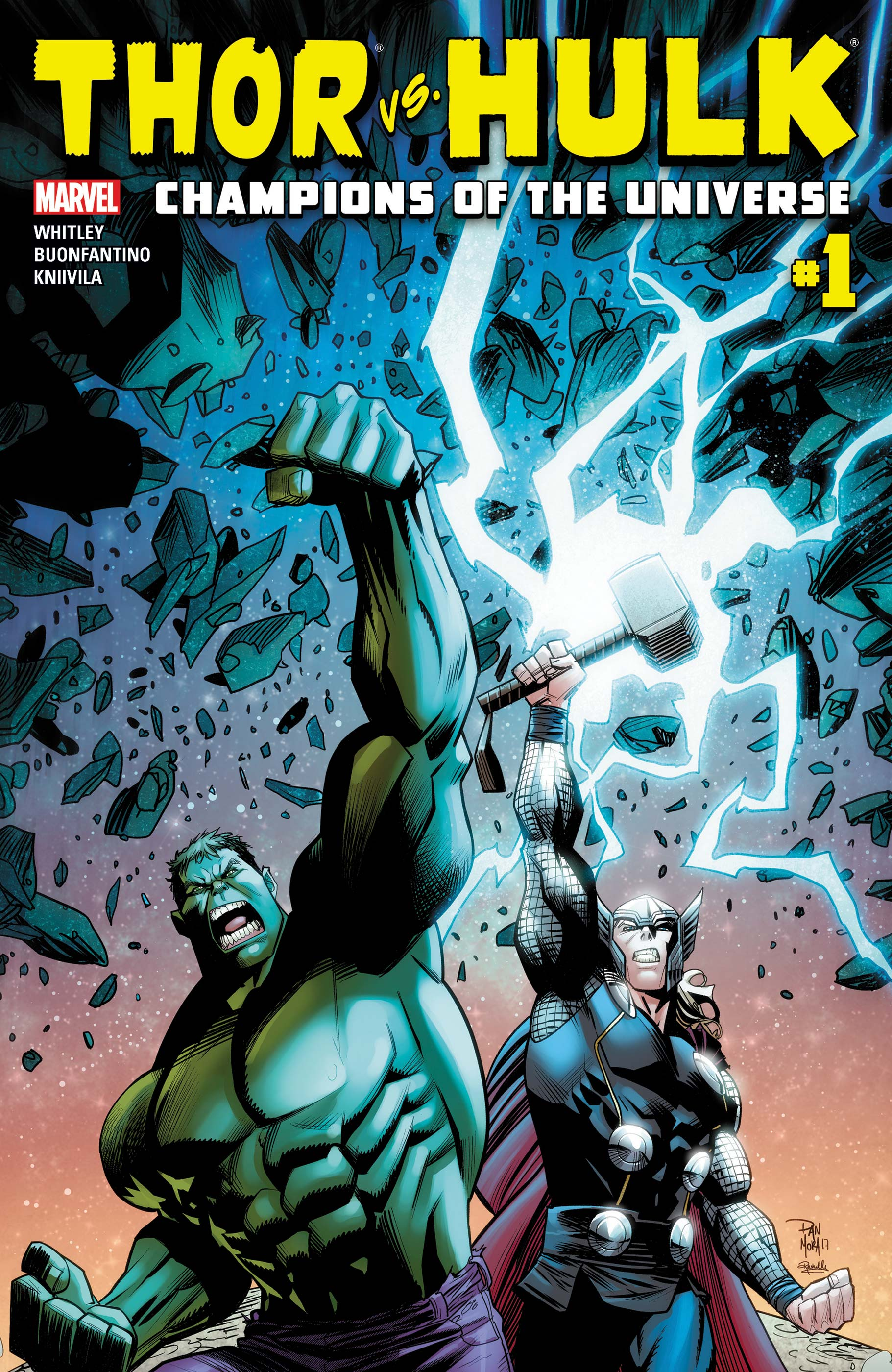 Thor Vs. Hulk - Champions of the Universe (2017) #1