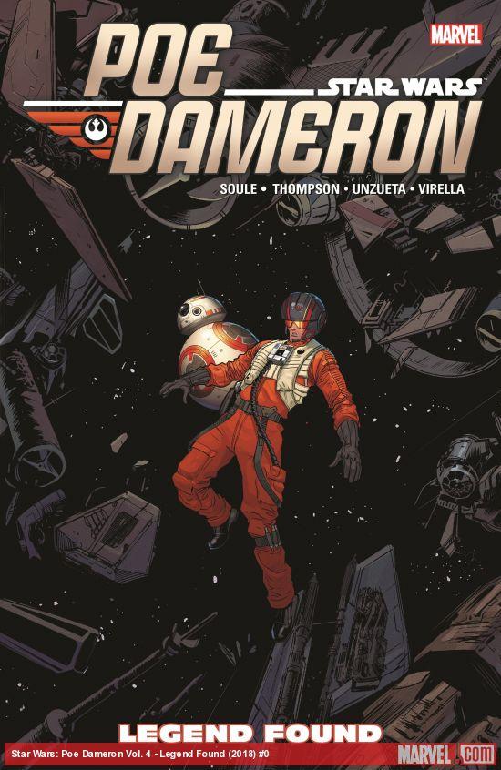 Star Wars: Poe Dameron Vol. 4 - Legend Found (Trade Paperback)