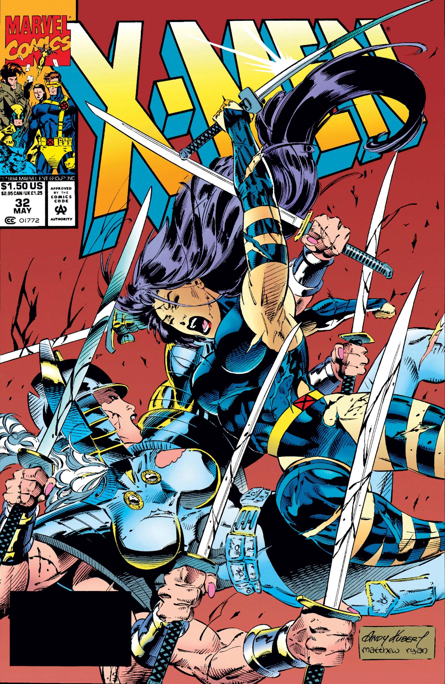 X-Men (1991) #32