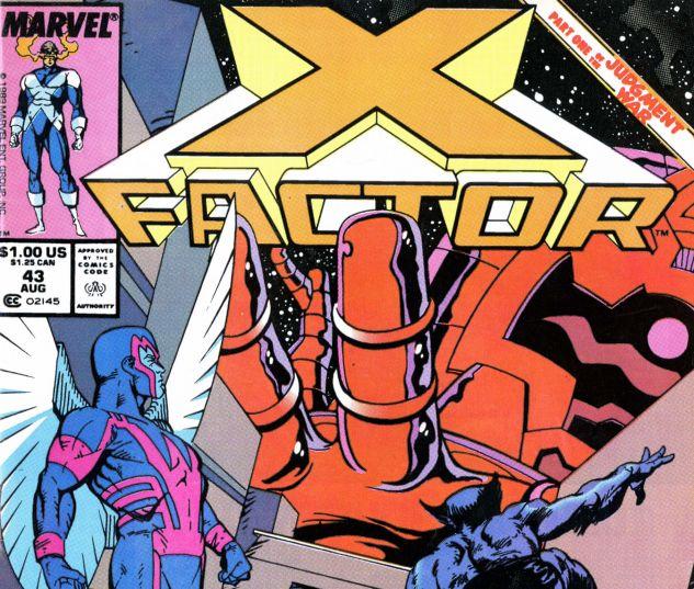 X-Factor (1986) #43