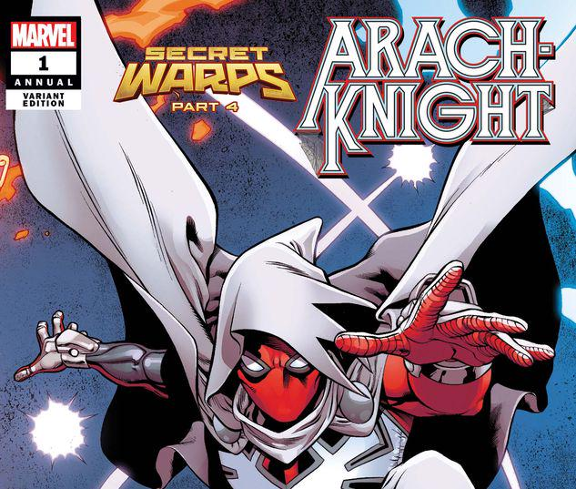 SECRET WARPS: ARACHKNIGHT ANNUAL 1 PACHECO CONNECTING VARIANT #1