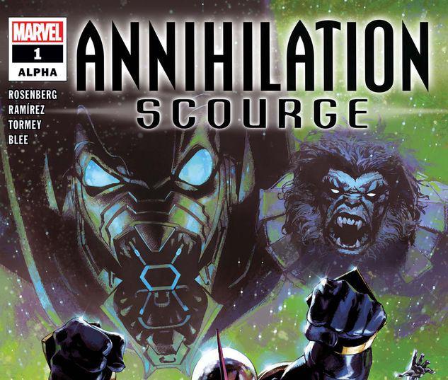 ANNIHILATION - SCOURGE ALPHA 1 #1
