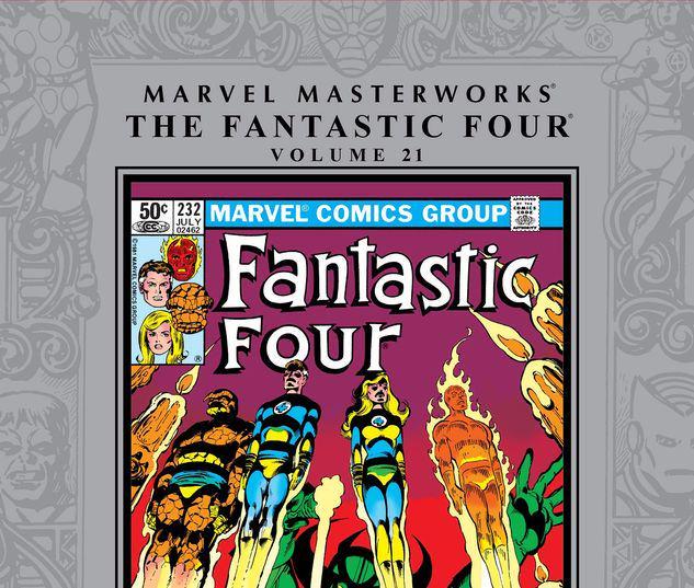 MARVEL MASTERWORKS: THE FANTASTIC FOUR VOL. 21 HC #21