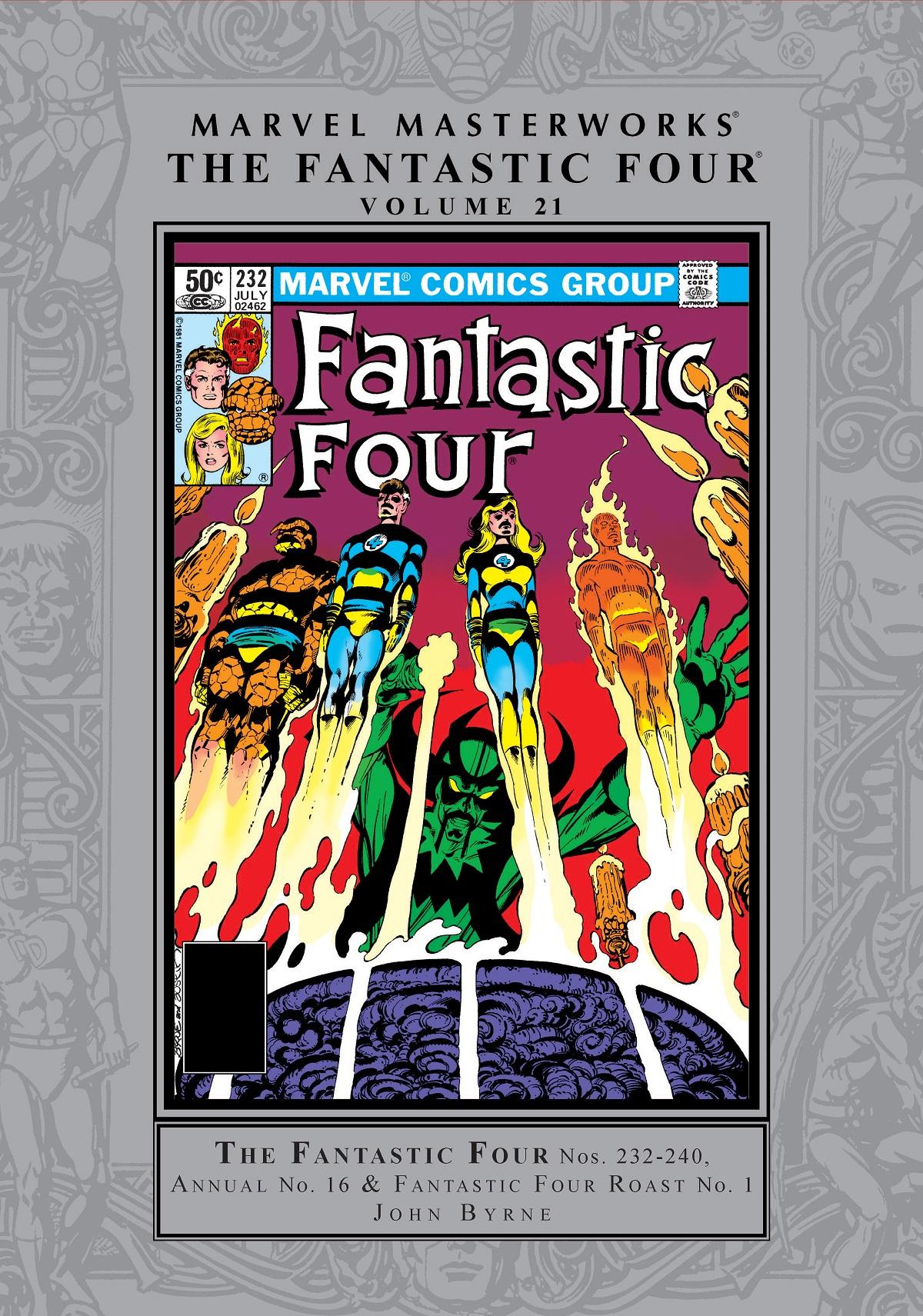 Marvel Masterworks: The Fantastic Four Vol. 21 (Hardcover)