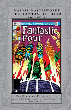 Marvel Masterworks: The Fantastic Four Vol. 21 (Hardcover)