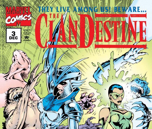 CLANDESTINE (1994) #3