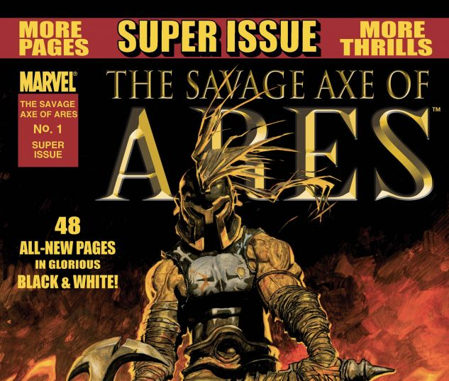 THE SAVAGE AXE OF ARES (2010) #1