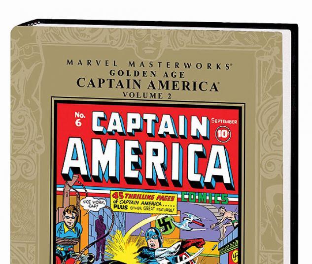 MARVEL MASTERWORKS: GOLDEN AGE CAPTAIN AMERICA VOL. 2 #0