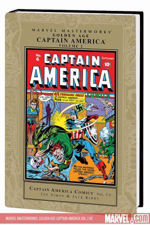 Marvel Masterworks: Golden Age Captain America Vol. 2 (2008)