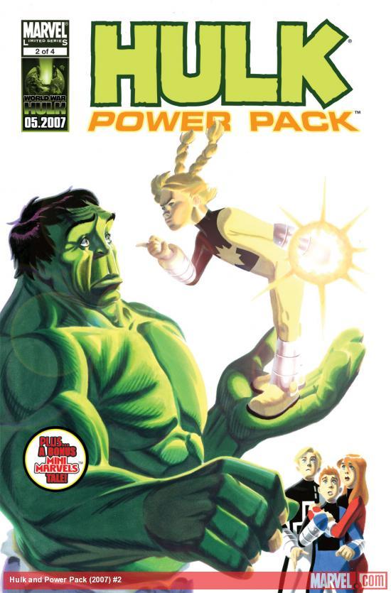 Hulk and Power Pack (2007) #2