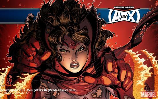 Avengers VS X-Men (2012) #6 (Bradshaw Variant)