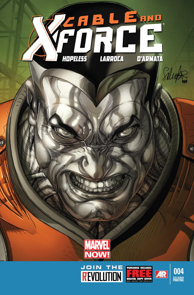 Cable and X-Force (2012) #4 (2nd Printing Variant)