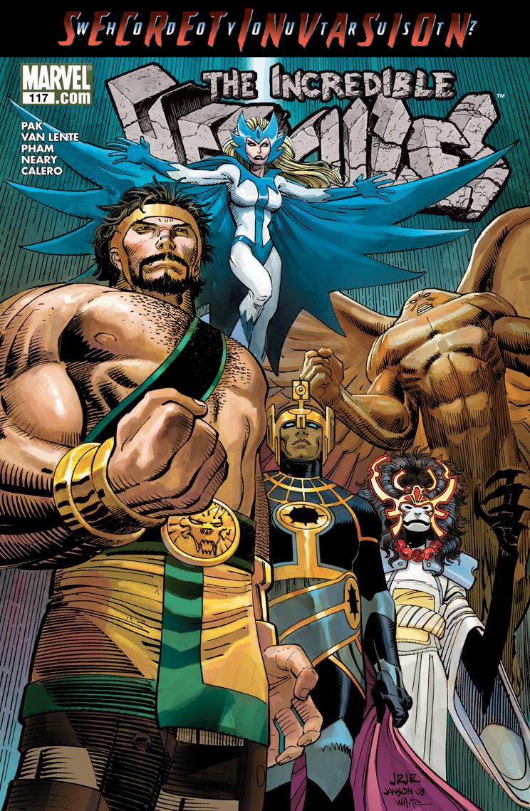 Incredible Hercules (2008) #117
