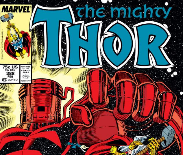 Thor (1966) #388 Cover