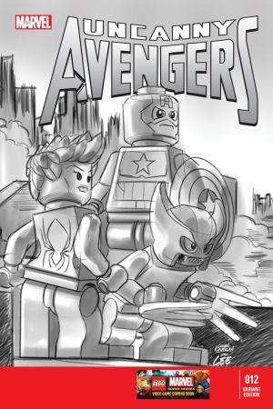 Uncanny Avengers (2012) #12 (Castellani Lego Sketch Variant)