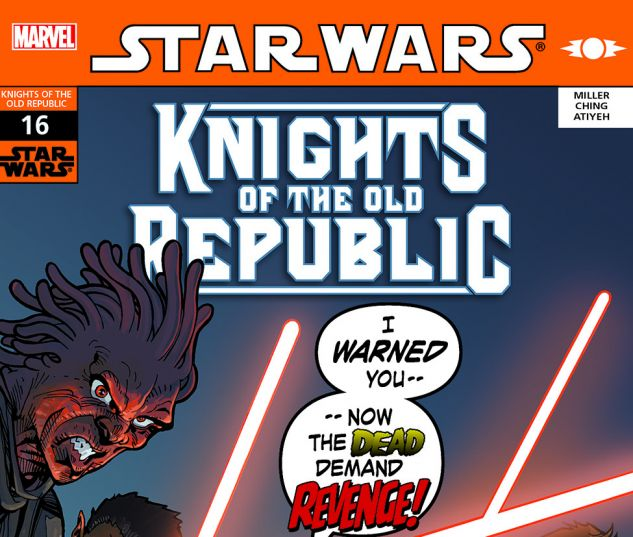 Star Wars: Knights Of The Old Republic (2006) #16