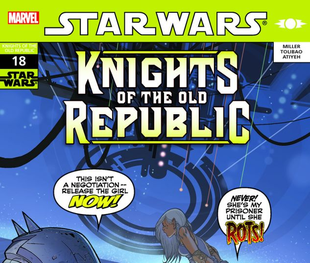Star Wars: Knights Of The Old Republic (2006) #18