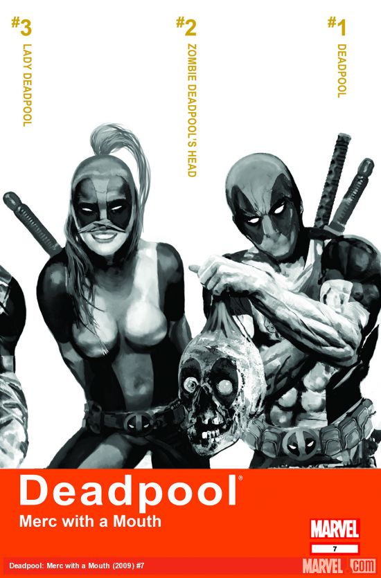 Deadpool: Merc with a Mouth (2009) #7