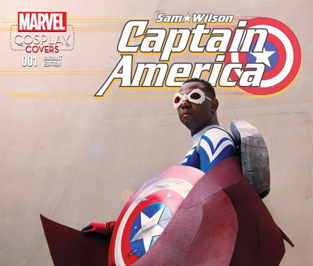 CAPTAIN AMERICA: SAM WILSON 1 COSPLAY VARIANT (WITH DIGITAL CODE)