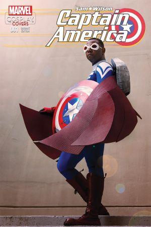 Captain America: Sam Wilson (2015) #1 (Cosplay Variant)
