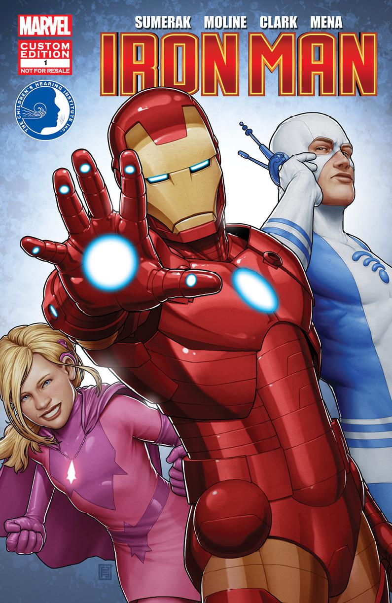 Children's Hearing Institute Presents Iron Man in Sound Effects (2014) #1
