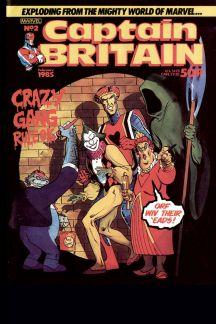 Captain Britain (1985) #2