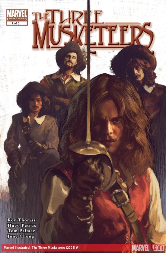 Marvel Illustrated: The Three Musketeers (2008) #1
