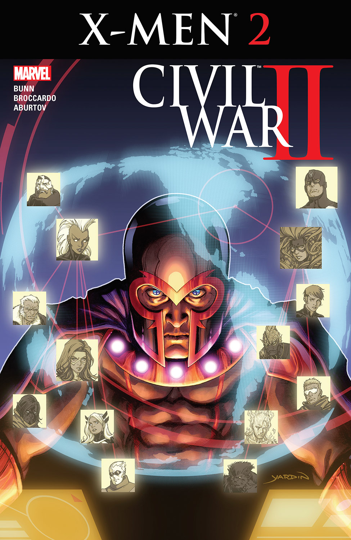 Civil War II: X-Men (2016) #2