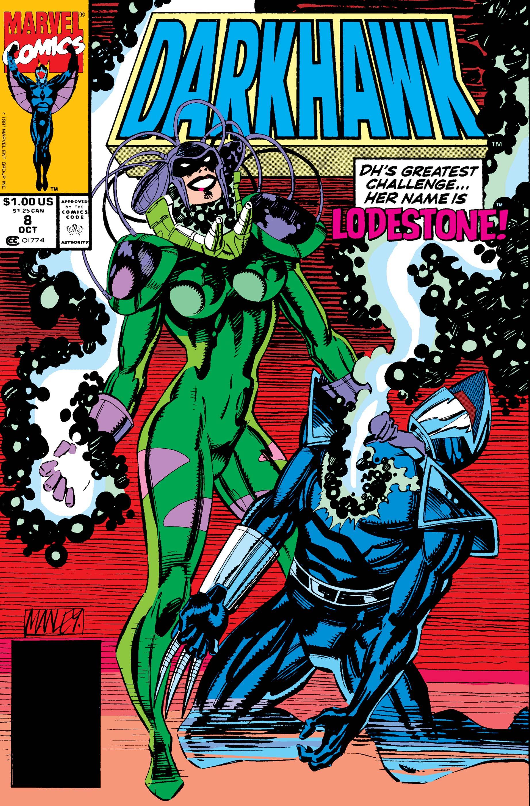 Darkhawk (1991) #8