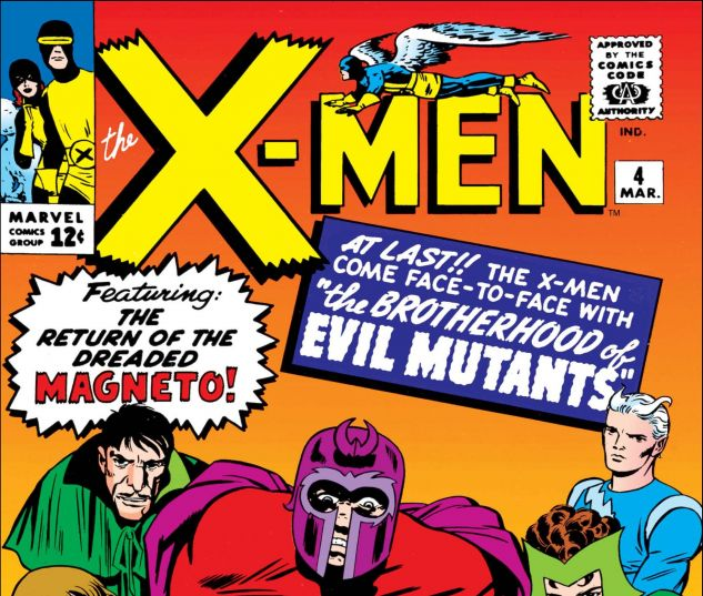 Uncanny X-Men (1963) #4