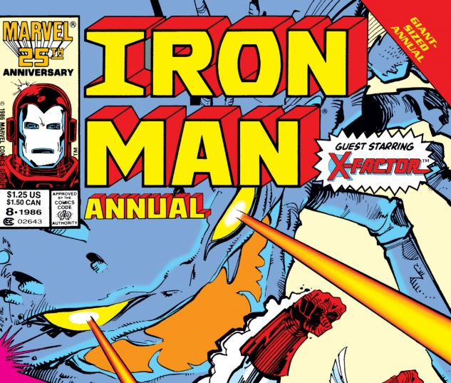 Cover Iron Man Annual 8