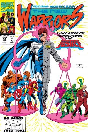 New Warriors (1990) #36