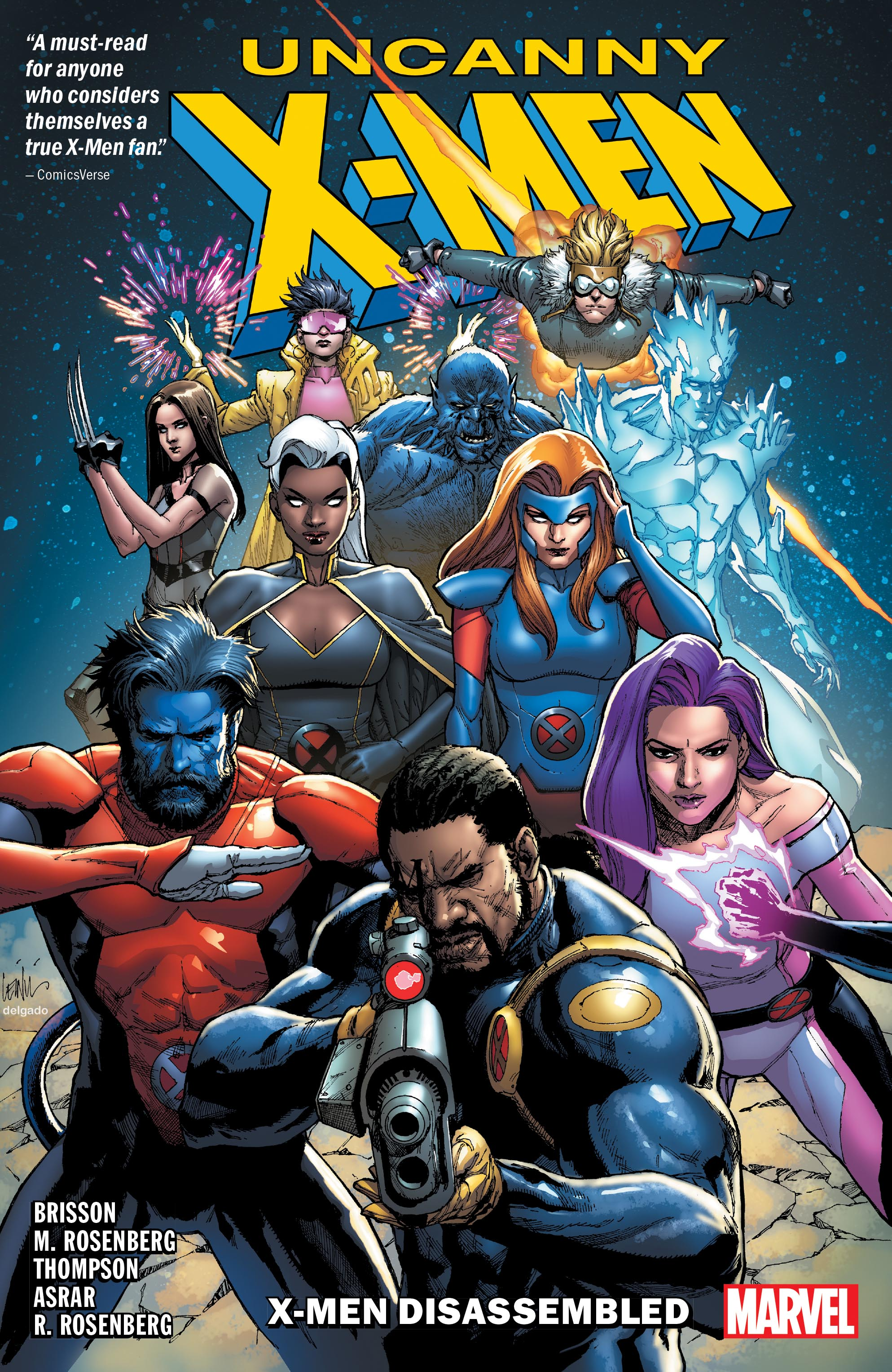 UNCANNY X-MEN: X-MEN DISASSEMBLED TPB (Trade Paperback)