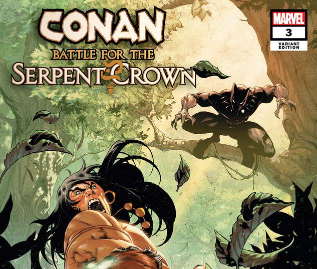 Conan: Battle for the Serpent Crown #3