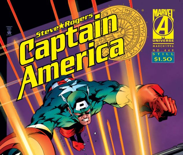Captain America (1968) #449 Cover