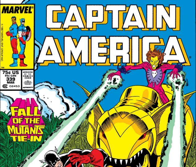 Captain America #339