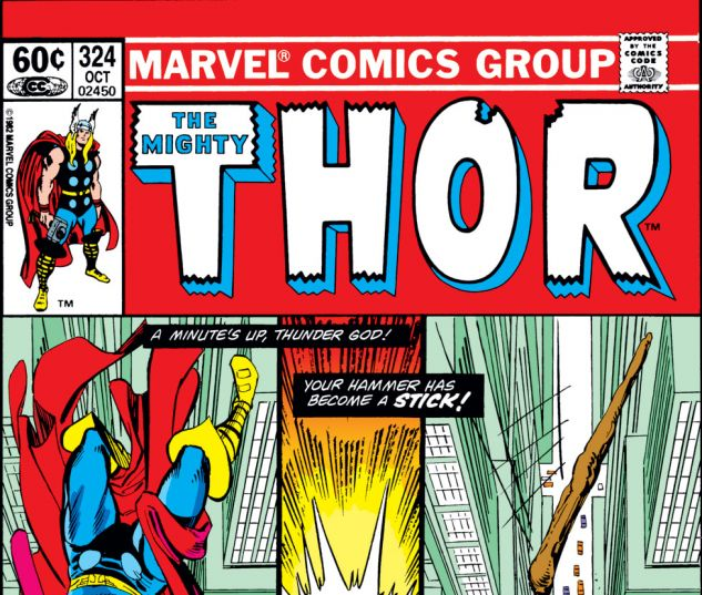 Thor (1966) #324 Cover