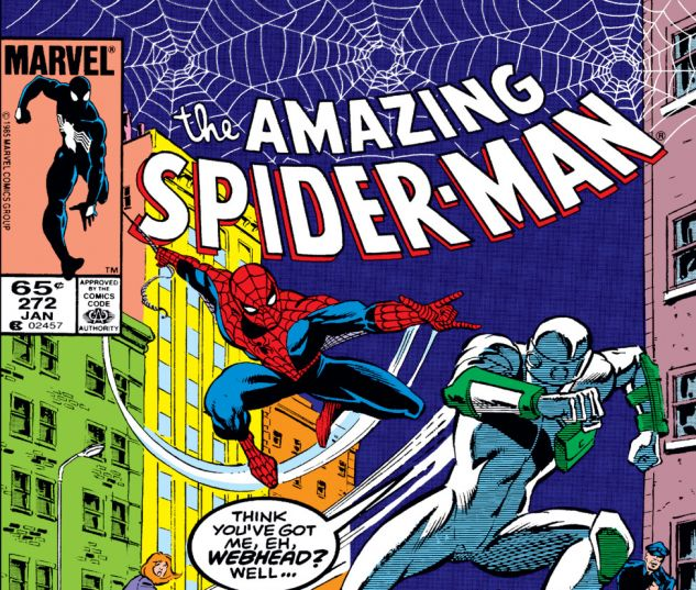 Amazing Spider-Man (1963) #272 Cover