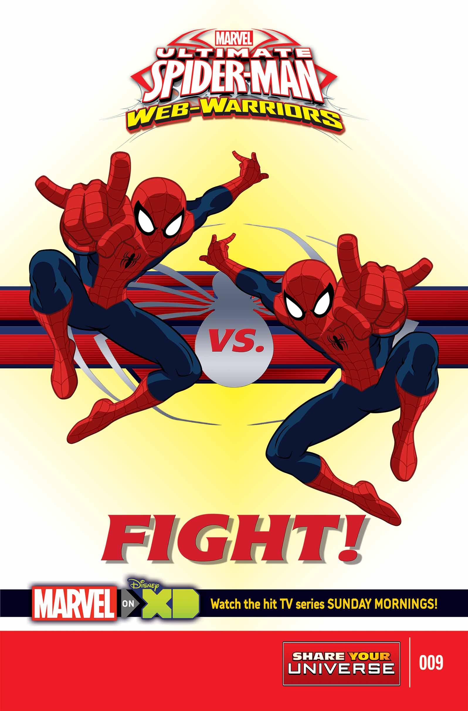 MARVEL UNIVERSE ULTIMATE SPIDER-MAN: WEB WARRIORS (2014) #9