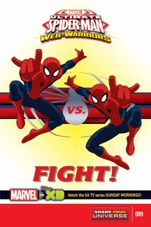 MARVEL UNIVERSE ULTIMATE SPIDER-MAN: WEB WARRIORS #9
