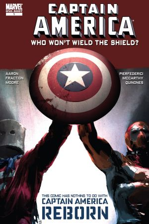 CAPTAIN AMERICA: WHO WON'T WIELD THE SHIELD 1 #1